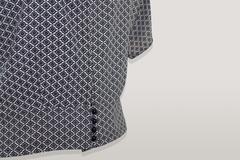 Блузка Gracjia спинка пуговицы орнамент