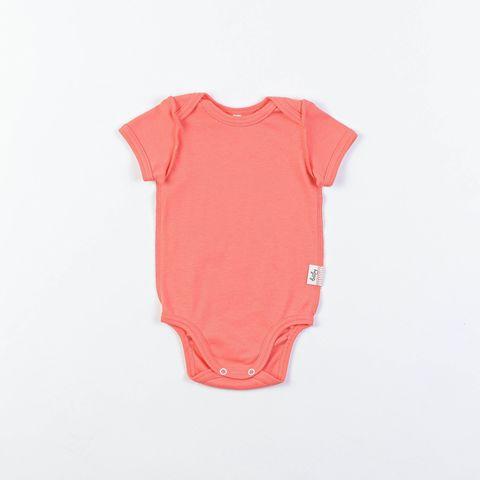 Short-sleeved bodysuit 0+, Peach