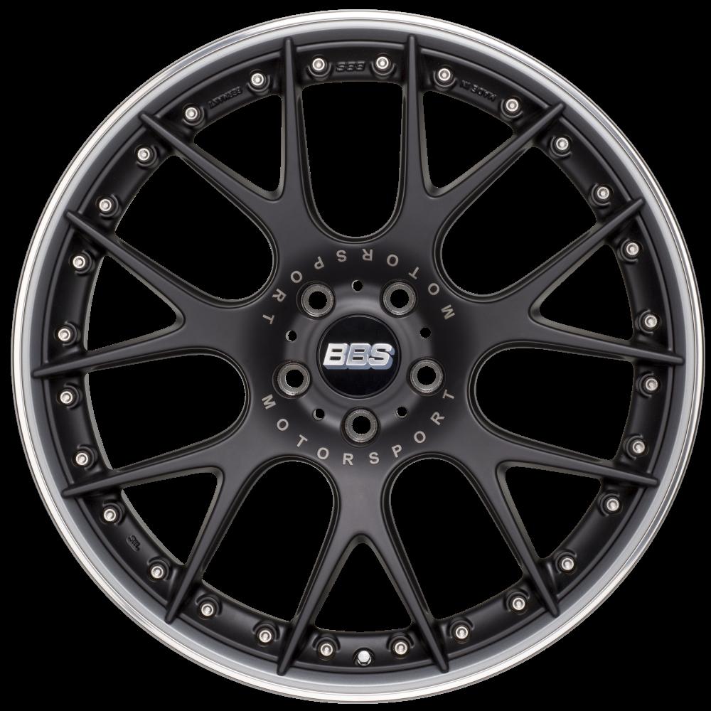 Диск колесный BBS CH-R II 10.5x22 5x112 ET15 CB82.0 satin black