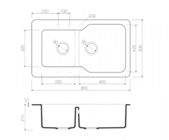 Схема Omoikiri Maru 86-2-SA