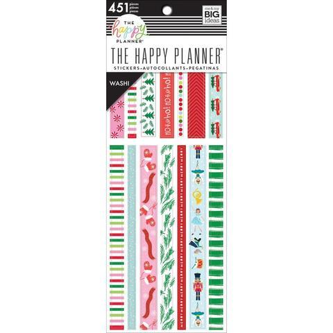 Блокнот с декоративным скотчем - Happy Planner Washi Sticker Book- 449 шт