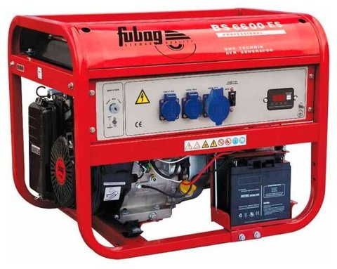 Кожух для бензинового генератора Fubag BS 6600 ES/A (5700 Вт)