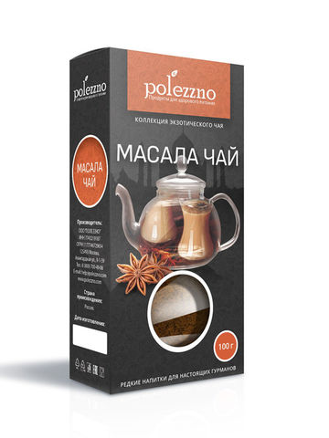 Polezzno масала чай 100 г