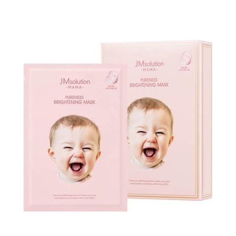 Гипоаллергенная тканевая маска для сияния кожи JMsolution Mama Pureness Brightening Mask
