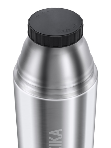 Термос Relaxika 102 (0,75 литра), 2 чашки, стальной