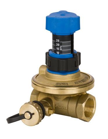 Клапан балансировочный APT Danfoss 003Z5741 DN 15 20-60 кПа с внутренней резьбой