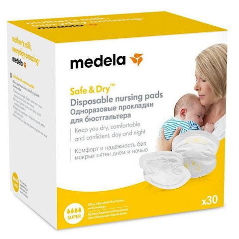 Medela. Прокладки для груди одноразовые, 1уп/30 шт.