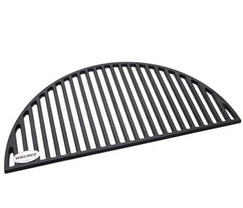 Решетка-гриль чугунная сектор 180 градусов, плотная 25
