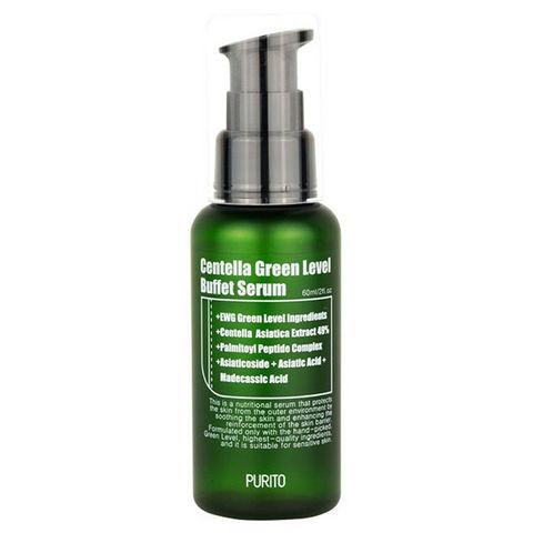 Purito Centella Green Level Buffet Serum Многофункциональная сыворотка с центеллой