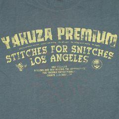 Футболка серая Yakuza Premium 3019