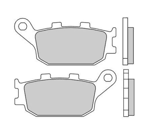 Тормозные колодки Brembo 07HO3607 для Yamaha YZF R6/R1, Honda CBR 1000 RR