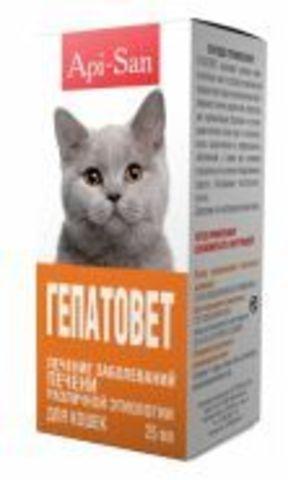 IPA-San Gepatovet for cats 25 ml
