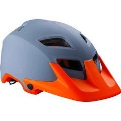 Велошлем BBB Ore серый/оранжевый