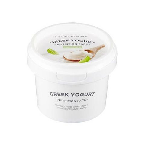 Nature Republic Greek Yogurt Nutrition Pack Plain маска йогуртовая ночная с маслом жожоба
