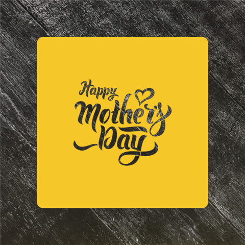 Трафарет любовь №56 Happy Mothers Day/Счастливого дня матери