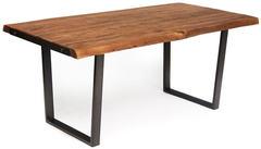 Стол обеденный Secret de Maison BAMKOPF (mod. G05371) дерево акация/метaлл, хела/металл натуральный