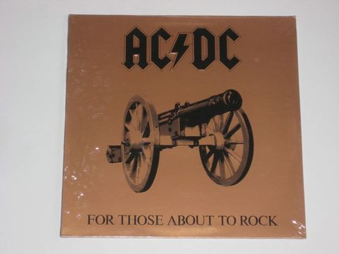 AC/DC / For Those About To Rock - We Salute You (LP)