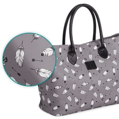 Сумка для мамы Kinderkraft Mommy Bag Grey