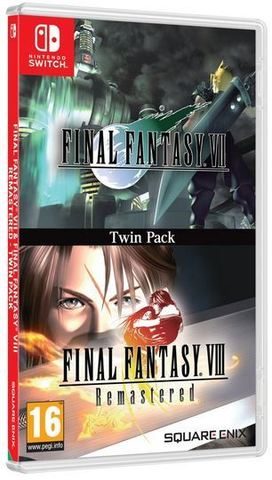 Final Fantasy VII & Final Fantasy VIII Remastered (Nintendo Switch, английская версия)