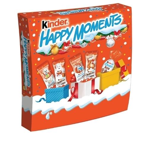 Новогодний набор Kinder Happy Moments 242 гр