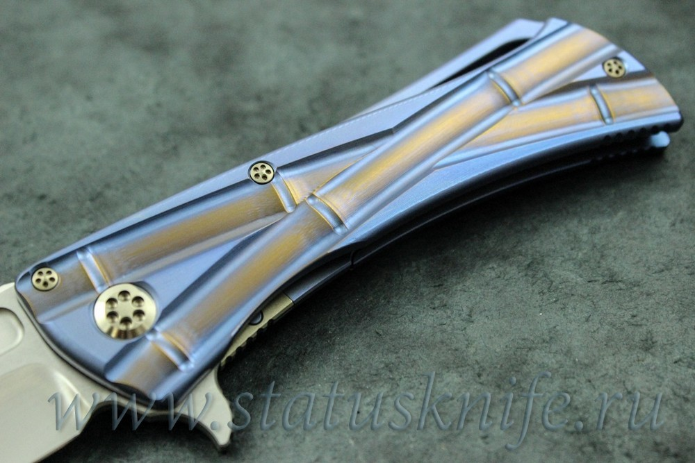 Нож Marfione/Koji Hara Closer w/MirrorPolish - фотография