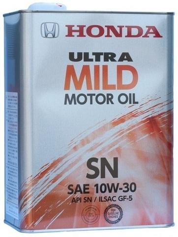 HONDA ULTRA MILD 10W30 SM Масло моторное полусинт. (железо/Япония)
