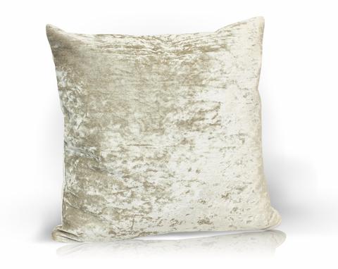 Подушка декоративная Бархат серый