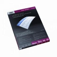 Пленка для ламинирования GBC 303x216 мм (А4) HS 75 мкм глянцевая (100 штук в упаковке)
