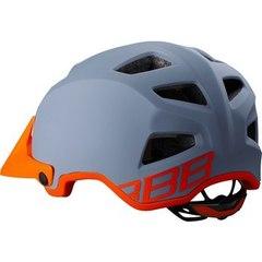 Велошлем BBB Ore серый/оранжевый - 2
