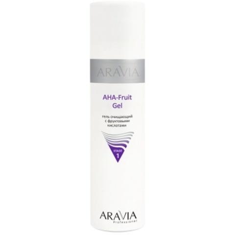 ARAVIA Professional Гель очищающий с фруктовыми кислотами AHA - Fruit Gel, 250 мл.