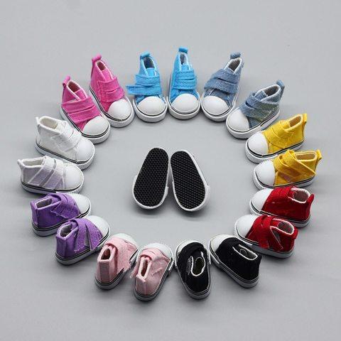 Взуття для ляльки. Кеди на липучці