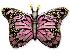 F Бабочка крылья розовые, 22