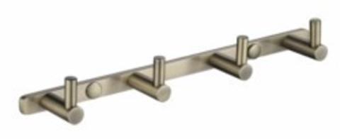 Планка KAISER Bronze H0024 с 4-мя крючками