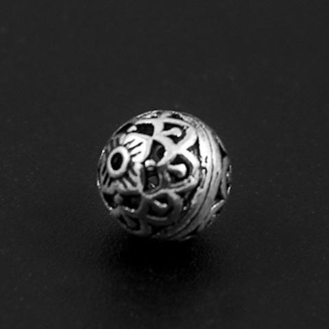 Бусина Мелисса 8 мм серебро 925