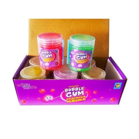 1toy Мелкие пакости Мяшка надувная Bubble gum  1кор*30бл*8шт, 140г