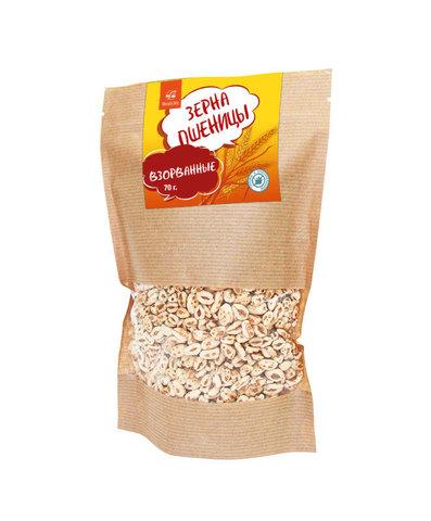 Взорванные зерна пшеницы, 70 г