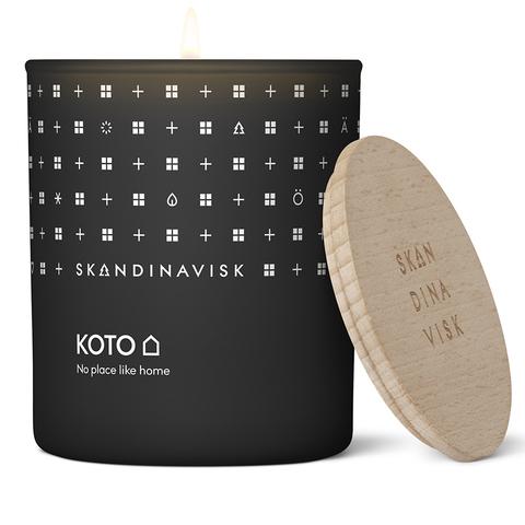 Свеча ароматическая KOTO с крышкой, 200 г (новая)