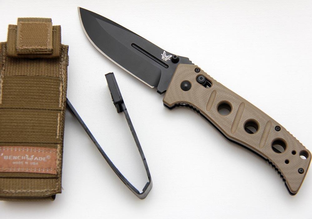 Нож Benchmade 275BKSN Adamas Sand - фотография