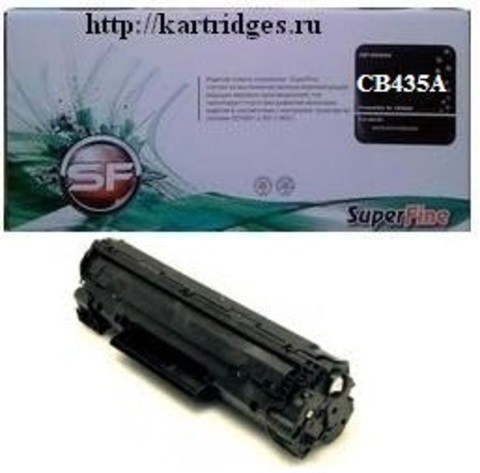Картридж SuperFine SF-CB435A