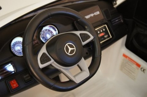 Детский электромобиль Rivertoys Mercedes-Benz GLS AMG белый GLS63-AMG-WHITE