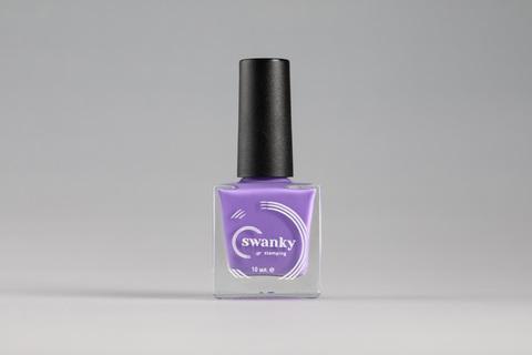 Лак для стемпинга Swanky Stamping №011, сиреневый, 10 мл.