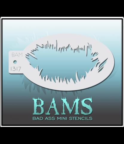 Трафарет BAMS 1317