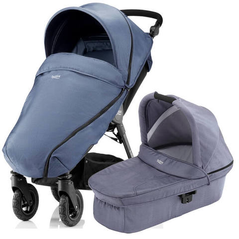 Коляска 2 в 1 Britax B-Motion 4 Plus Blue Denim
