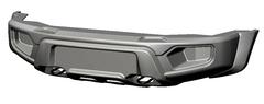 Бампер АВС-Дизайн передний UAZ Патриот/Пикап/Карго 2005- лифт Легкий (без оптики)(под покраску)