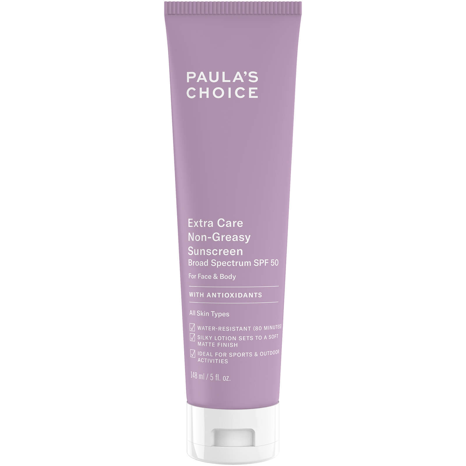 Крем Paula's Choice Extra Care Non-Greasy Sunscreen SPF 50 with Antioxidants 148 мл
