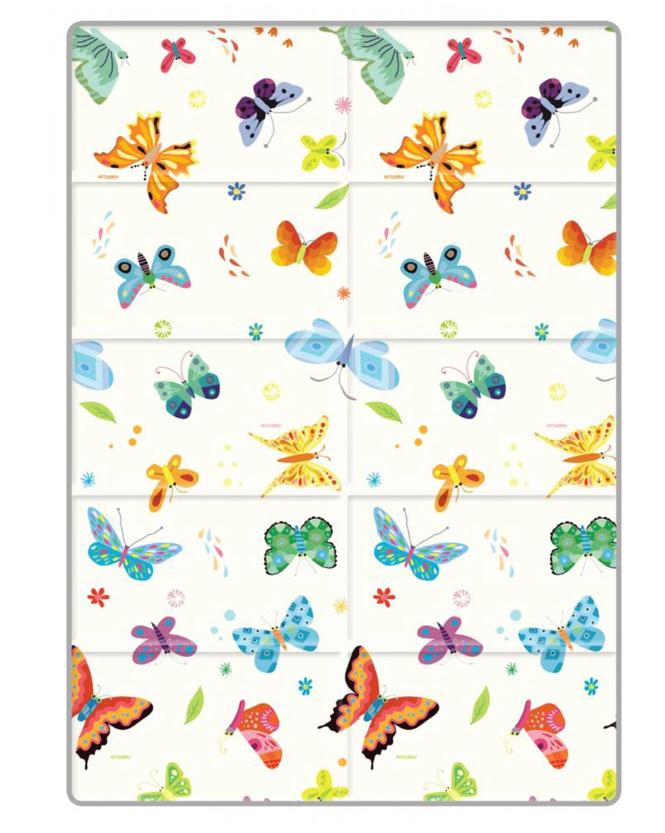 FunnyLon коврик портативный Butterfly World 140х200 см.