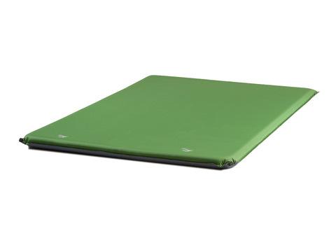 Самонадувающийся туристический коврик TREK PLANET Relax 70 Double (Green)