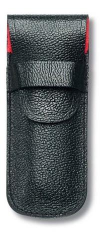 Чехол кожаный Victorinox, черный для перочинных ножей 84 мм, толщиной 3 уровня