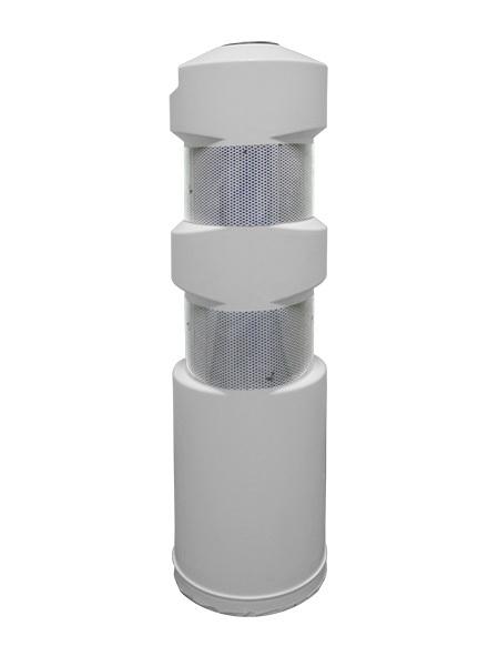 Пластиковый столбик белый