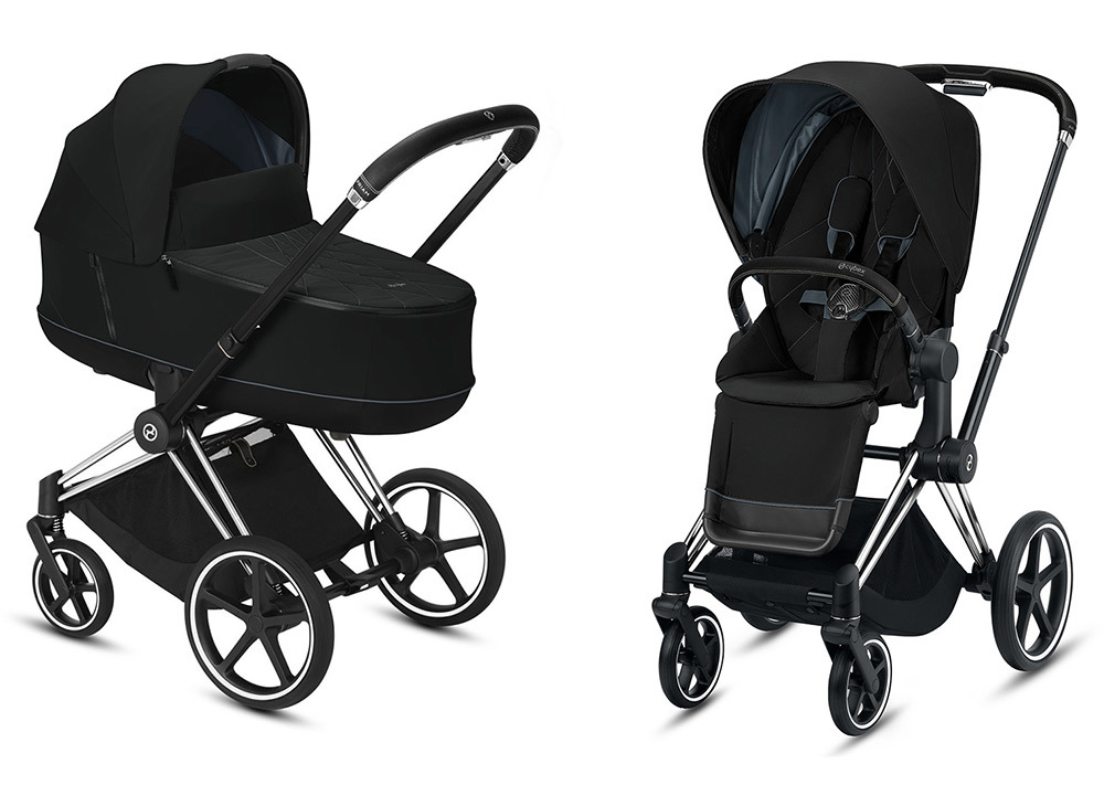 Cybex Priam III 2 в 1 - 2020 Детская коляска Cybex Priam III 2 в 1 Deep Black Chrome Black cybex-priam-iii-2-in-1-2020-deep-black-chrome-black.jpg